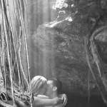 trash the dress cenote rivera maya