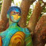 body paint cancun rivera maya